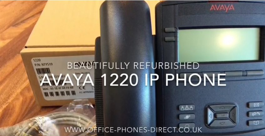New and Top Quality Refurbished Office Phones with 24-month