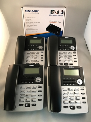System with 4 Phones