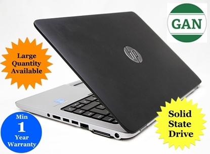 "Picture of Good as New - HP Elitebook 840 G1 Ultrabook Laptop 14.4"" Display - 180GB SSD / 8GB RAM / INTEL CORE I5 1.90GHZ CPU"