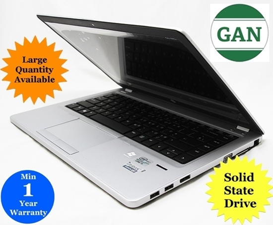 """Picture of Good as New - HP Folio 9470M Laptop 14"""" Display - 128GB SSD / 4GB RAM / INTEL CORE i5 1.80GHZ CPU"""